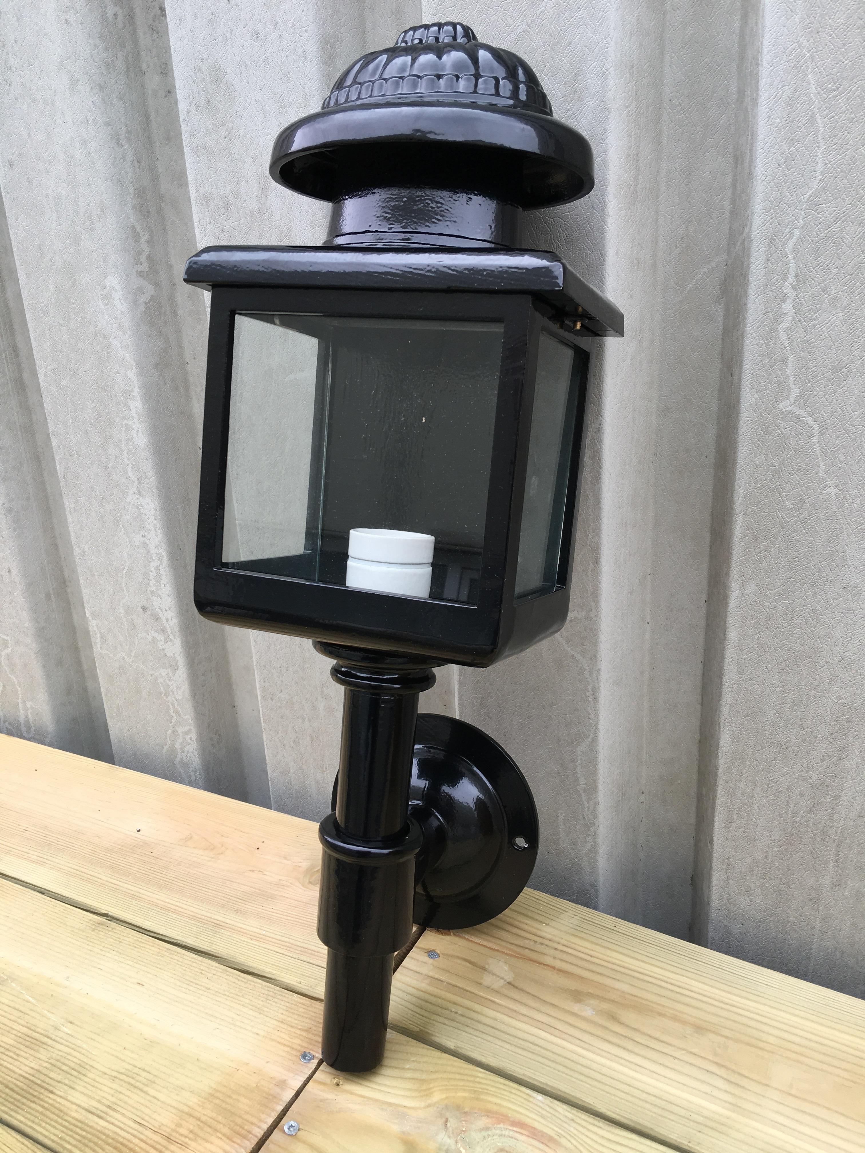 Buiten verlichting voor bij de voordeur, Koetsenlamp, zwart ...