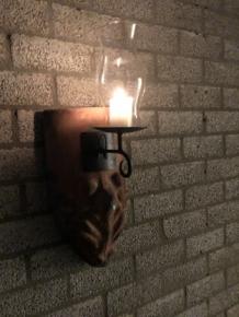Wind Licht Van Dakpan Met Mytische Afbeelding Met