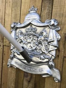 Bekend Vlaggenmast houder, hofleverancier met koninklijk logo, voor aan LB98