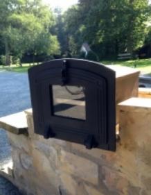 1 oven met gietijzeren deur zwart gelakt countryclassicdesign eu. Black Bedroom Furniture Sets. Home Design Ideas
