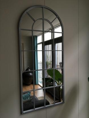 Grote forse spiegel heel fraai in vorm countryclassicdesign eu - Grote woonkamer design spiegel ...