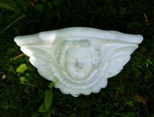 Tuindecoratie tuin nostalgie figuur engel planter bloempot muur muur decoratie muur - Voorbeeld van tuindecoratie ...