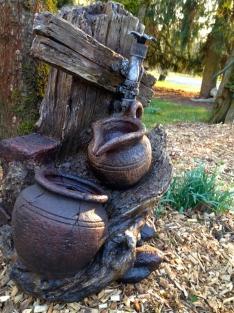 Tags fontein terras tuin fontein waterval fontein indoor fonteinen kleine fonteinen patio - Outdoor licht tuin ...